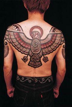 Awesome-Tribal-Tattoo-Design