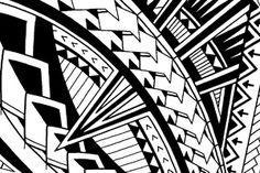 patterns in a Samoan tattoo design
