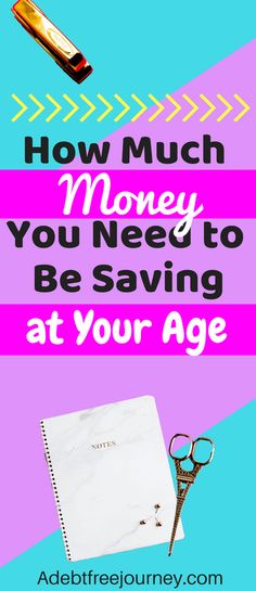 I'm so glad I found this! This post is perfect for anyone wanting to find out how much money they need to be saving at their age. How much money should you be saving? #howmuchmoneyshouldIhavesaved #howmuchmoneyshouldIbesaving #savemoney #getoutofdebt #budget #makeextramoney