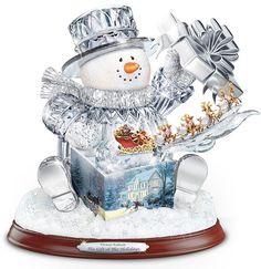 Веселые снеговики от Томаса Кинкейда. Обсуждение на LiveInternet - Российский Сервис Онлайн-Дневников