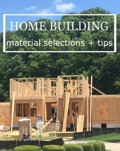 Building A New Home Tips 50 tips for anyone building a new construction home | construction