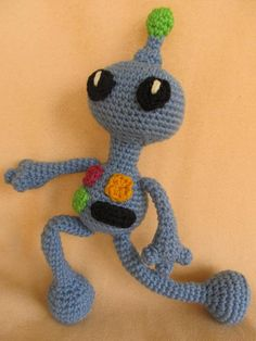 """Remmy the Robot Crochet Amigurumi Pattern by CraftyDebDesigns, $3.98"" #Amigurumi  #crochet"