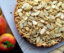 Krucha szarlotka z migdałami Deserts, Food And Drink, Pie, Sweetest Thing, Cook, Recipes, Bakken, Torte, Cake