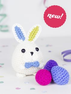 NEW Magicus the easter bunny amigurumi crochet pattern by Tremendu 1