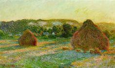 Monet, Wheatstacks (End of Summer)