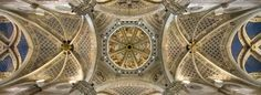 The church ceiling of the #Certosa of #Pavia #Italy @youritalianconcierge.com