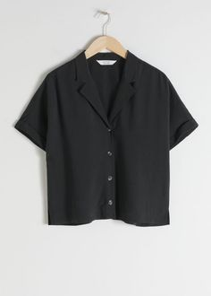 V-Cut Button Up Shirt