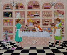Marry, Peggy, Betty and Suzy by Maria Laura Bratoz