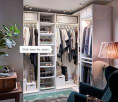 Fancy Design Ideas Ikea Closet PAX Wardrobes Without Doors Bedroom System Combinations With Corner Wardrobe White Best Interior Ikea Pax Closet, Ikea Closet Organizer, Ikea Pax Wardrobe, Bedroom Wardrobe, Walk In Closet Ikea, Bathroom Closet, Master Closet, Dressing Ikea, Armoire Dressing