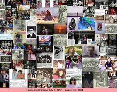 Laura Branigan Collage of a missing artist. 1952-2004