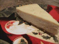 Eggnog Cheesecake Eggnog Cheesecake, Christmas Goodies, Desserts, Food, Meal, Deserts, Essen, Hoods, Dessert