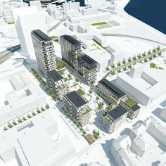 Frederiks Plads. C.F. Møller