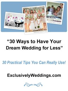 planning etiquette advice tips tricks plan wedding your dreams