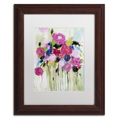 Mi Amor by Carrie Schmitt Matted Framed Painting Print