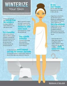 Great Tip Tuesday from Drs. Rodan + Fields.  Here's how to winterize your skin so it will stay looking great as the cold chill sets in.  www.angelaozdemir.myrandf.com