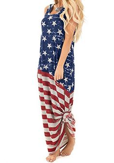 Highpot Baby Girls Boys 4th of July USA Flag Printed Romper Jumpsuit Outfit