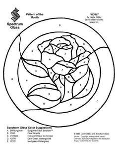 Rose in circle