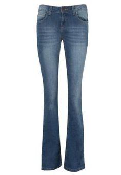 Calça Jeans Clean Flare Azul - TNG - Compre em: http://batecabeca.com.br/calca-jeans-clean-flare-azul-tng-dafiti.html
