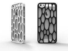 iPhone 5 / 5s Voronoi Case #3 by {DF}