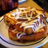 IHOP cinnastacks...but i would make the pancake version