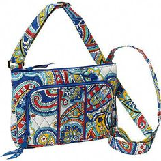229145d051c2 Vera Bradley Little Hipster Marina Paisley - Vera Bradley Fabric Handbags  from Yvonne s  shoes