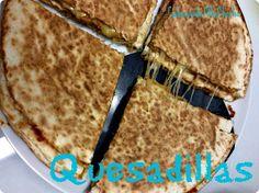 Cabeças-de-alho-chocho: Quesadillas
