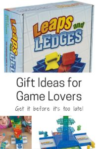 Leaps and Ledges - your kids will love this fun game of strategy.