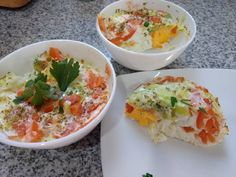 Eggs without oil in the microwave recipes oven Recipes Source by Hard Boiled, Boiled Eggs, Eggs In Oven, Cook Pad, Sin Gluten, Fresh Rolls, Salad Recipes, Potato Salad, Appetizers