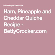 Looking for a classic French breakfast using Bisquick® mix? Then check out this cheesy ham and pineapple quiche that's baked to perfection. Breakfast Bake, Sausage Breakfast, Breakfast Ideas, Breakfast Recipes, School Breakfast, Morning Breakfast, Brunch Ideas, Breakfast Dishes, Breakfast Casserole