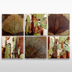 Composition of 6 pieces Empreinte & Naturalis