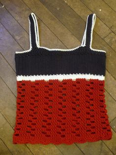 Rhonda's Closet: Week 1: Crocheted Tank Top and Purse | Mrs. Greene - crafts, food, fashion, life