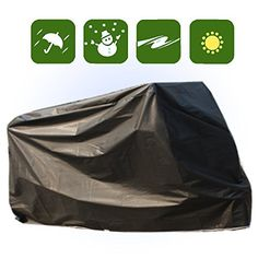 Rocky MRanger Waterproof Black Bicycle Cover Small Scooter Moped Bike Protection YQ6AB * See this awesome product @ http://www.amazon.com/gp/product/B010CKLXFS/?tag=fitnessztore-20&pde=030816192533