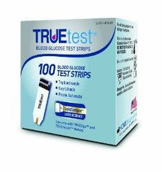 TRUEtest Test Strips, 100 Count  http://healthaffection.com/health-personal-care/medical-supplies-equipment/truetest-test-strips-100-count-com/