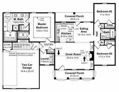 This Cape Cod House Plan includes 3 bedrooms / 2 baths in 1500 sq ft of living space.  Its open floorplan layout is flexible and is ideal for your growing family.  Best of all, its designed to be affordable to build and includes all of the most popular features you're looking for in your next home design.    #houseplan #dreamhome #HPG-1500 #HousePlanGallery #houseplans #homeplans New House Plans, House Floor Plans, Build Dream Home, Open Kitchen Layouts, Brick Siding, Electrical Plan, Gas Fireplace Logs, Floor Plan Layout, Residential Construction