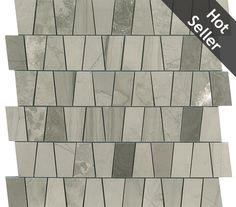 Discount Glass Tile Store - Athens Gray Marble Echelon Mosaic - $12.98 Square Foot, $12.98 (http://www.discountglasstilestore.com/athens-gray-marble-echelon-mosaic-12-98-square-foot/)