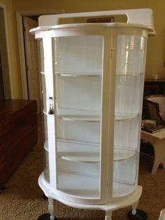Painted Curio Cabinet 300 Riverside Http Furnishly