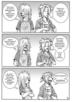Another comic of mine that was published in the Norwegian comic magazine; Nemi…