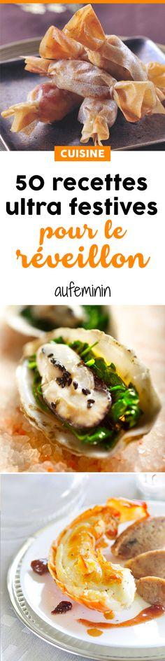 Toutes ces recettes pour des repas de fêtes que l'on va avoir très envie de dévorer ! De délicieuses idées pour un repas de Noël ou de réveillon. /// #aufeminin #Marmiton #ElleHabiteLa #noel #réveillon #repasdefetes #recettedenoel #menu #recette