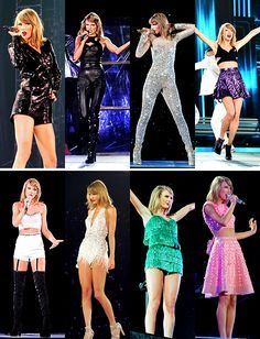 1989 Tour Outfits--The first one though. I am loving the top...or is it like a whole thing? either way...fab!