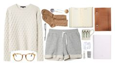 """""""Study days are sad days"""" by vogue-breakfast ❤ liked on Polyvore"""