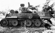 """kruegerwaffen: """"tigris 505. nehéz harckocsi zászlóalj kiütötte, és elfoglalták a Vörös Hadsereg.  Július 1943 """"eltalált Tiger"""