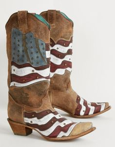 Corral Americana Cowboy Boot - Women's Shoes | Buckle