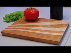 Let's Get Curvy! Jazz up your cutting board with a curved insert (WnW #17) - YouTube