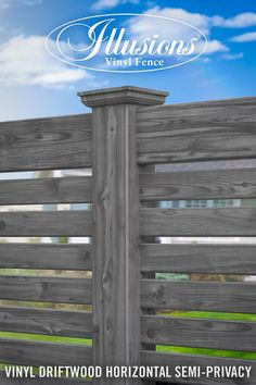 Check out these incredible Vinyl Wood-Grain Fence Images of Illusions Vinyl Fence. You won't believe your eyes that this is actually PVC vinyl fencing.