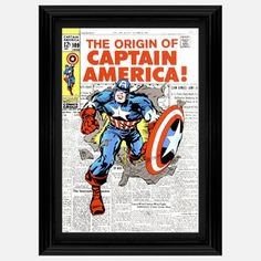 Captain America 109 20x27 now featured on Fab.