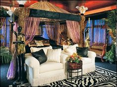 jungle theme bedrooms - jungle style decorating ideas