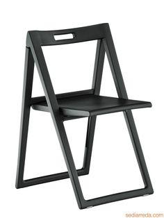 Enjoy 460 | Klappbarer Stuhl, In Der Farbe Schwarz