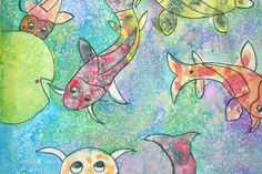 salt watercolor