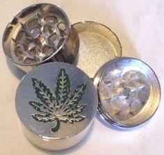 HERB GRINDER Large Pot Weed Leaf Metal Magnetic Pollen Screen 3 Piece 40mm NICE! - http://spicegrinder.biz/herb-grinder-large-pot-weed-leaf-metal-magnetic-pollen-screen-3-piece-40mm-nice/