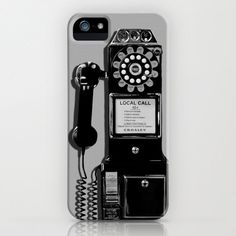 Retro Phone iPhone Case iPod Touch 5c 5s 4 4s by LegendsofDarkness Photography, $45.00